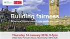 EAC to jointly host 'Building Fairness' event with the Law Commission