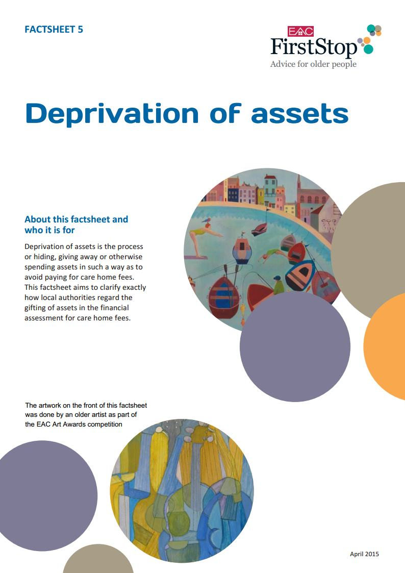 Deprivation of assets