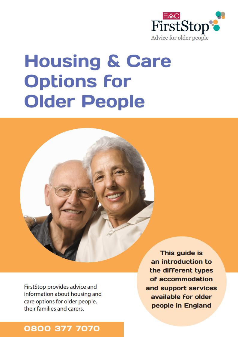 Housing and care options for older people