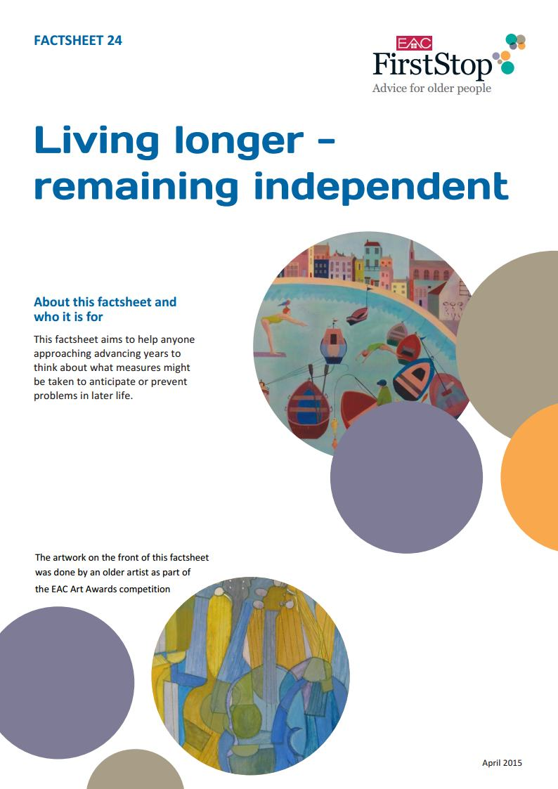 Living longer – remaining independent