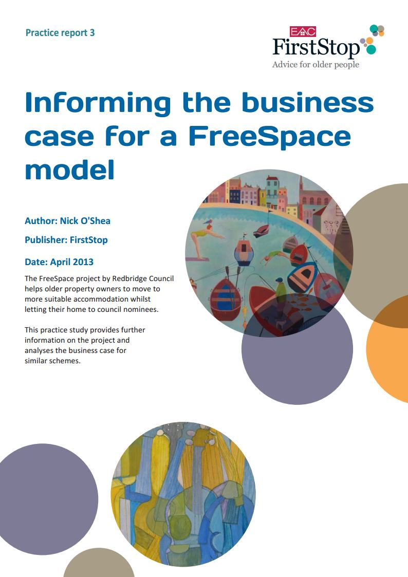 Informing the business case for a Freespace model