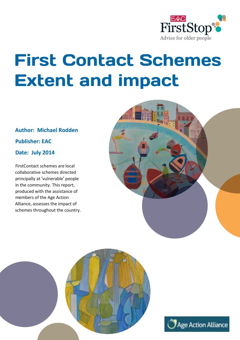 First Contact Schemes: Extent and impact