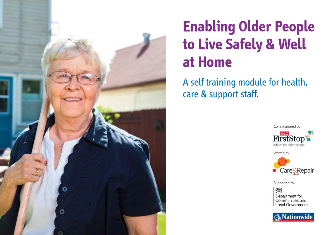Enabling Older People to Live Safely & Well at Home