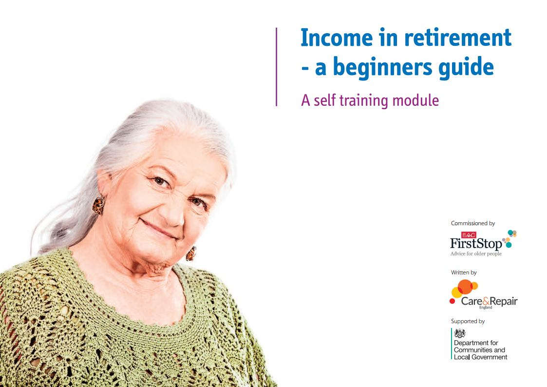 Income in retirement – a beginners guide