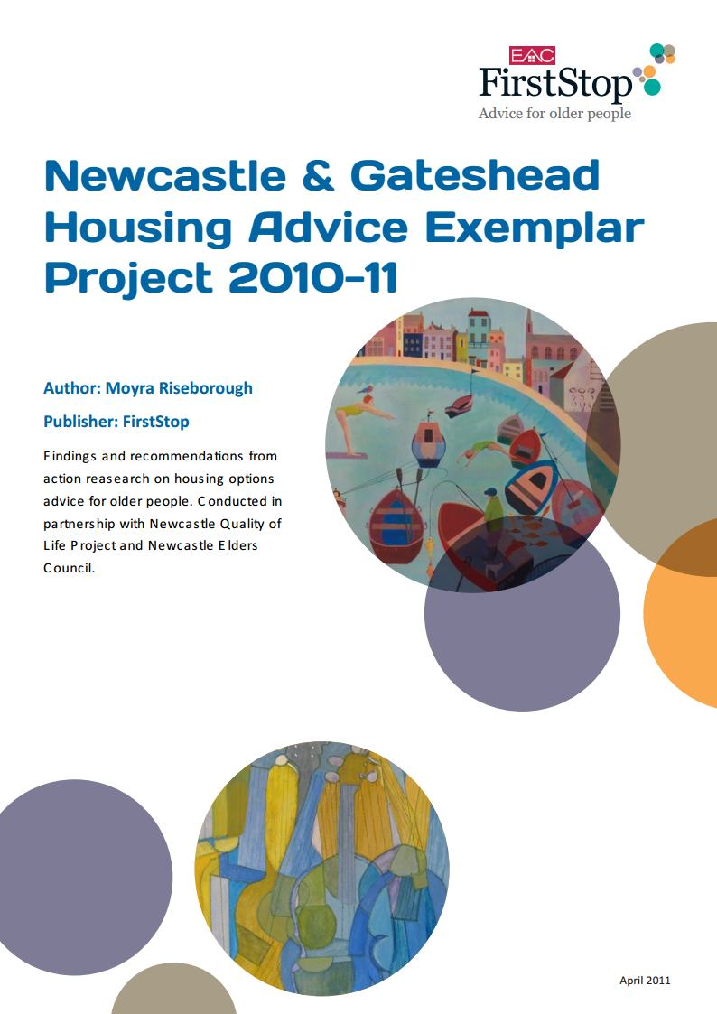 Newcastle & Gateshead Housing Advice Exemplar Project 2010-11