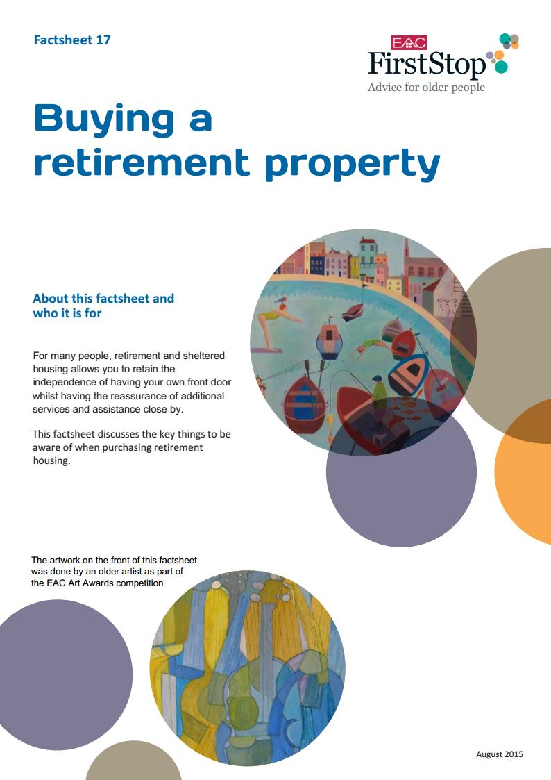 Buying a retirement property